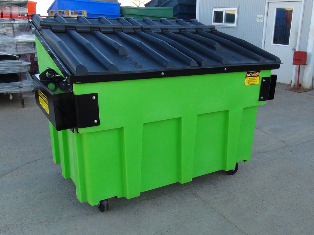 Plastic Trash Dumpsters Equipment Financing | Wastefunding