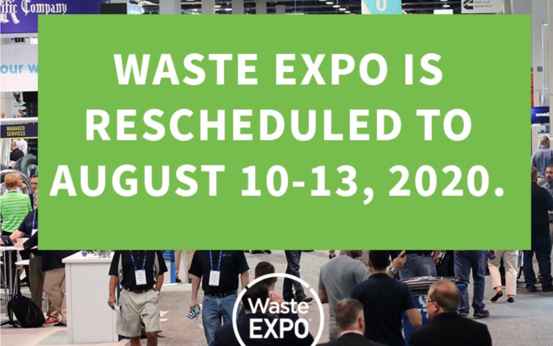 Check Out Waste Expo's New 2020 Date